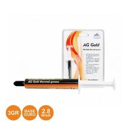 Tubo Pasta Térmica Dourada 3G AG