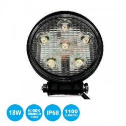 Projector Led 6x3W 9..60V Ip68 6500K