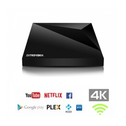 Receptor IPTV Set Top Box 4K H.265/HEVC - EXEXTREMEBOX-ONE