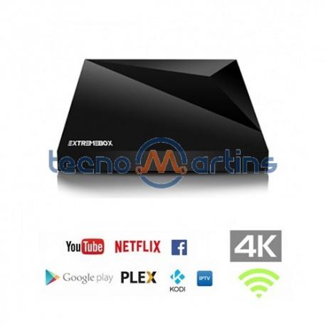Receptor IPTV Set Top Box 4K H 265/HEVC - EXEXTREMEBOX-ONE - TecnoMartins pt