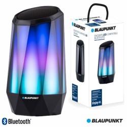 Coluna Bluetooth Portátil LED RGB Cristal 5W SD - Blaupunkt
