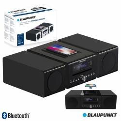 Rádio Portátil FM 2X20W Indução USB/CD/BT BAT - BLAUPUNK