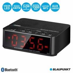 Relógio Despertador FM Bluetooth USB 3W BAT - BLAUPUNKT