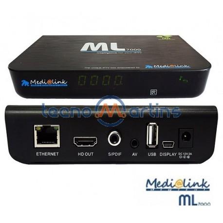 Receptor IPTV Set Top Box - MEDIALINK ML7000