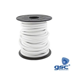 Cabo Textil ( 2x0.75mm ) 10m Branco - GSC