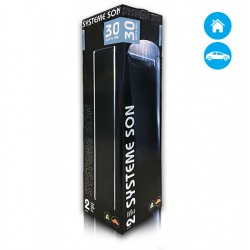 Colunas Hi-Fi Sisteme Som 5.1 30w