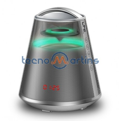 Coluna Bluetooth 100w Usb/Bat Prata - LTC