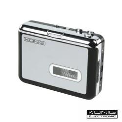 Rádio Portátil Fm/Am/Ol c/ Gravador Cassetes