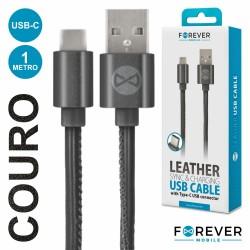 Cabo USB-A 2.0 Macho / Micro USB-B Macho 1M - FOREVER