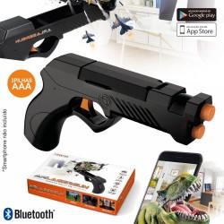 Pistola Laser De Realidade Aumentada p/ SMARTPHONE BT Pilhas