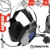 Auscultadores Gaming P/ Consola/Pc USB + Jack - MANTA