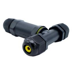 Ligador Estanque 3Pinos 'Y' P/ Instalações Electricas Exterior (1.0..2.5mm) IP68