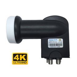 Lnb Universal 4 Saidas 0.1db 4K - Dicom