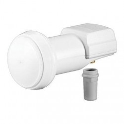 LNB - 1 Saida - SINGLE UNIVERSAL 0.1dB - Goobay
