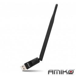 Antena Wifi Usb Wireless 5db 150mb - AMIKO