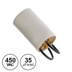 Condensador Arranque 35uf / 450v~ C/ Fios