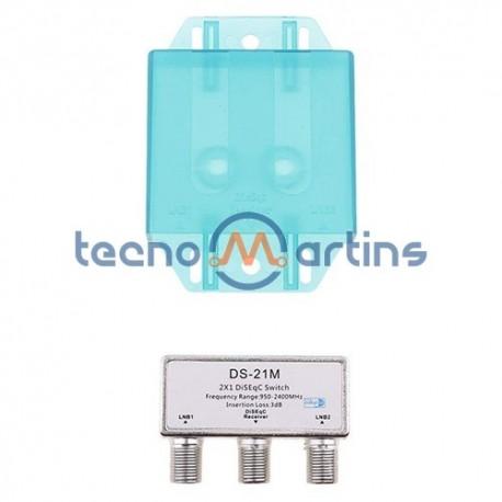 Comutador Diseqc 2x1 - 2-Lnbs - Maxim