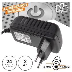 Alimentador Dc 24v 2000mA 5.5x2.1x12mm