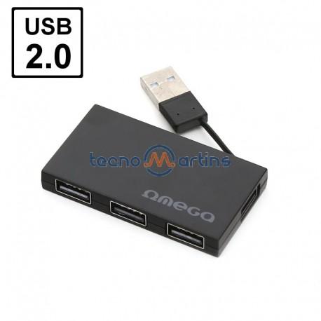 USB HUB 4 Portas - OMEGA