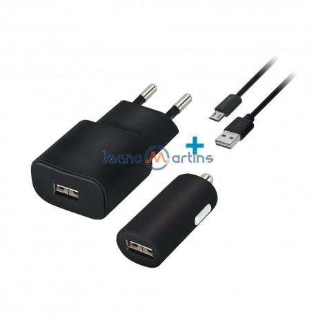 Transf. Aliment. Dc 5v 2.4A Usb + Cabo USB 1mt - DCU