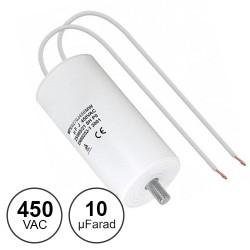 Condensador Arranque 10uf / 450v~ C/Fios