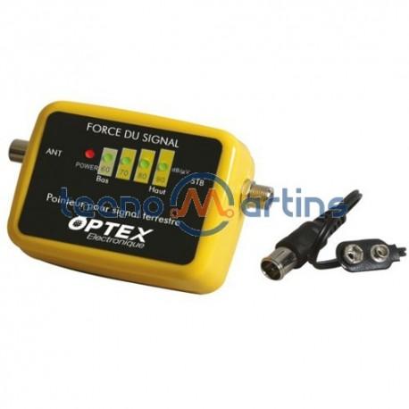 Medidor e Localizador de Sinal TV Digital Terrestre (TDT) - OPTEX