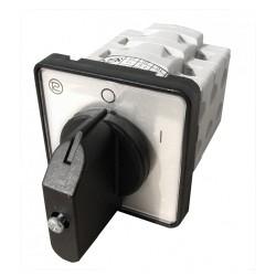 Interruptor Rotativo 2 posições 3 pólos 10A - Promet