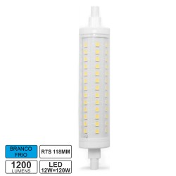 Lampada LED R7s 118mm 12w 6500k 1200lm Bf