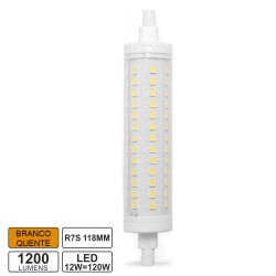 Lampada LED R7s 118mm 12w 3000k 1200lm Bf
