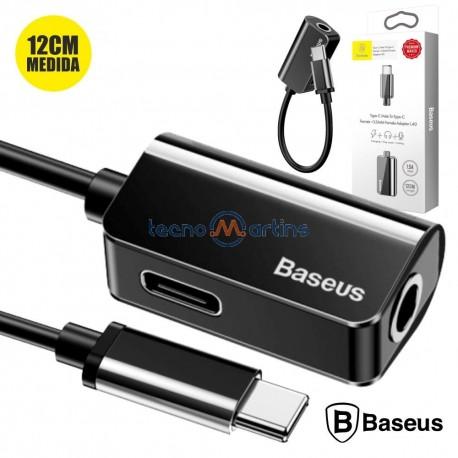Cabo Adptador USB-C P/ USB-C e JACK 3.5 - Baseus