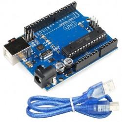 Placa de Desenvolvimento Compatível com Arduino UNO R3 c/ ATmega328