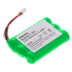 Bateria Tel 3.6v 600mA 3xAAA 3-Fios