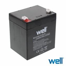 Bateria Chumbo 12V 5A - WELL
