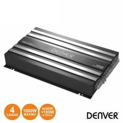 Amplificador P/ Automóvel 4 Canais 1000W - Denver