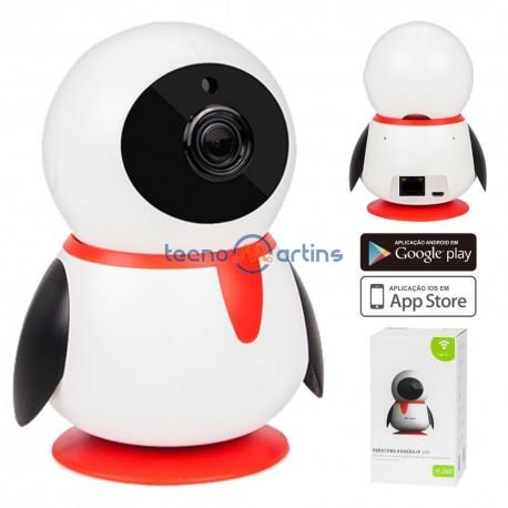 Câmara Vigilância IP 720P S/ Fios Wifi - Prok