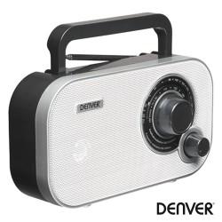 Rádio FM/AM/AUX Portátil Branco - Denver
