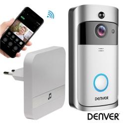 Vídeo Porteiro Wi-Fi C/ Alarme Sensor Pir 720P IPX4 - Denver