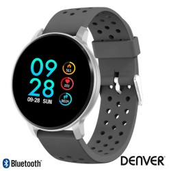 Smartwatch Multifunções P/ Android Ios Cinza - Denver