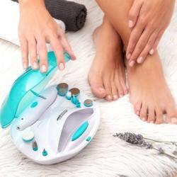 Aparelho P/ Manicure e Pedicure C/ Bateria e Acessórios