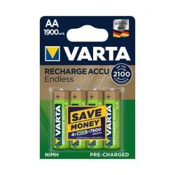 Bateria 1.2v-1900mA AA Ni-Mh BL4 – Varta