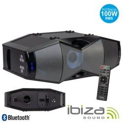 Coluna Portátil Amplificada 100W Bluetooth - Ibiza