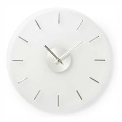 Relógio de Parede Analógico Vidro 40Cm