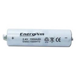 Bateria NiCd 2xSubC 2.4V 1500mAh com Patilhas