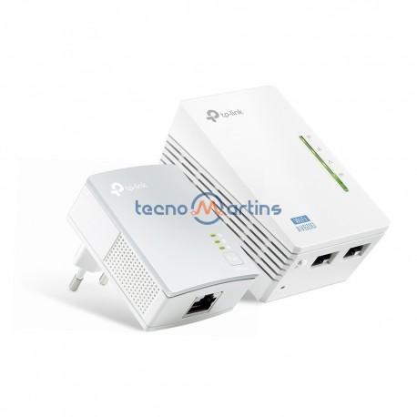 TP-Link Powerline Adaptador AV500 Pass Through TL-PA4010P KIT