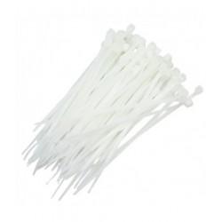 Abraçadeira de Fivela Branca - 200x2.5mm