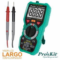 Multímetro Digital 3 5/6 Dígitos True Rms - Pro'sKit