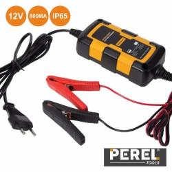 Carregador Baterias Chumbo 12v 800mA - Perel