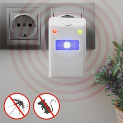 Repelente de Insectos e Roedores Eléctrico c/ LED