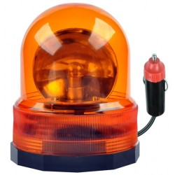 Sinalizador Rotativo Magnetico 12v Laranja