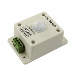 Sensor de Movimento PIR 12V-24DC 8A - 96/192W